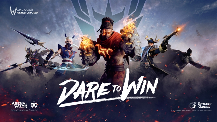 Dare to Win - Arena of Valor World Cup