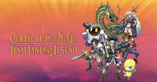COLLECTION OF SaGa FINAL FANTASY LEGEND (Switch): Square Enix revela  detalhes da coletânea - Nintendo Blast