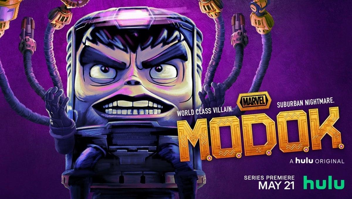 M.O.D.O.K da Hulu ganha pôster e banner oficial! ~ Universo Marvel 616